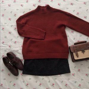 Forever21 burnt orange sweater